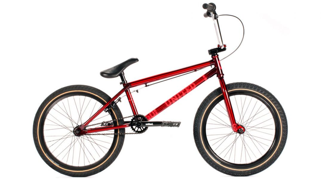 2015 United KL40 red BMX